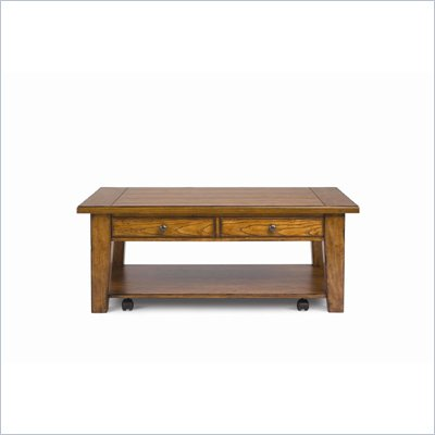 Magnussen Mackenzie Wood Rect Lift Top Cocktail Table