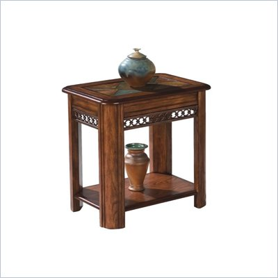 Magnussen Madison Wood Chairside Table