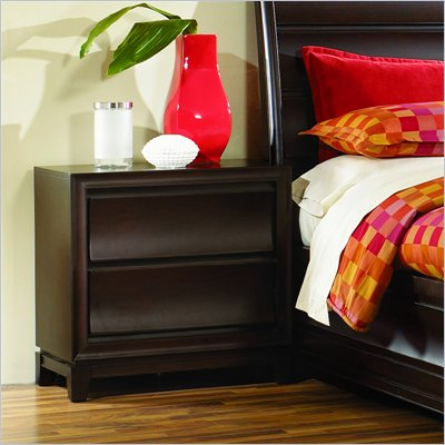 Magnussen Meridian Wood 2 Drawer Nightstand