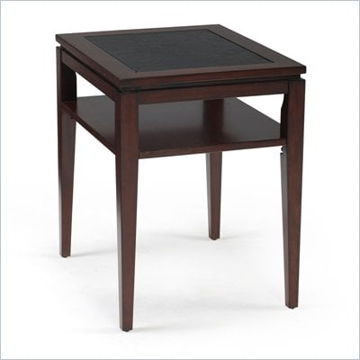 Magnussen Micah Wood Rectangular End Table