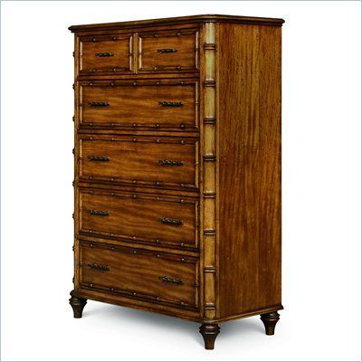 Magnussen Palm Bay 5 Drawer Chest in Toffee Finish