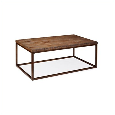 Magnussen Pinecrest Wood Rectangular Cocktail Table