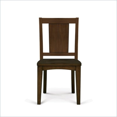 Magnussen Twilight Wood Desk Chair in Chestnut