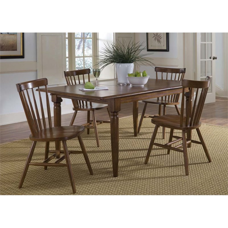 Liberty Furniture Creations II 5 Piece Butterfly Leaf Dining Set