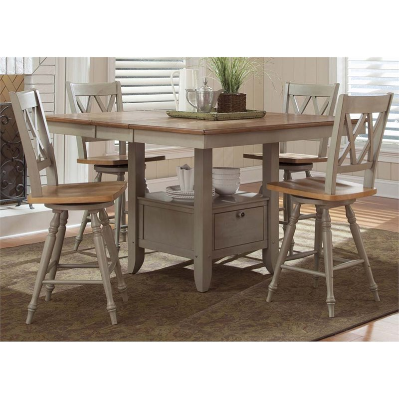 Liberty Furniture Al Fresco 5 Piece Counter Height Dining Set