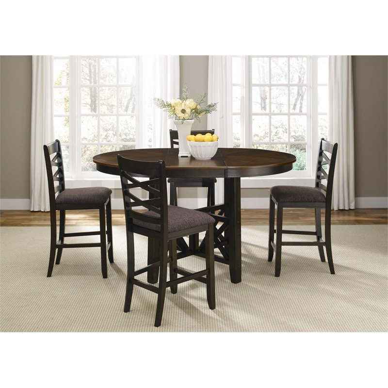 Liberty Furniture Bistro II 5 Piece Counter Height Dining Set