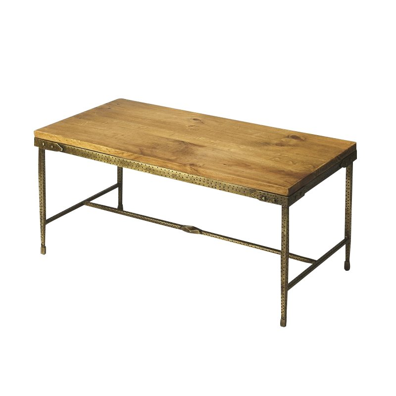 Butler Specialty Industrial Chic Coffee Table in Multi-Color