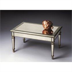 Butler Specialty Cocktail Table in Mirror Finish