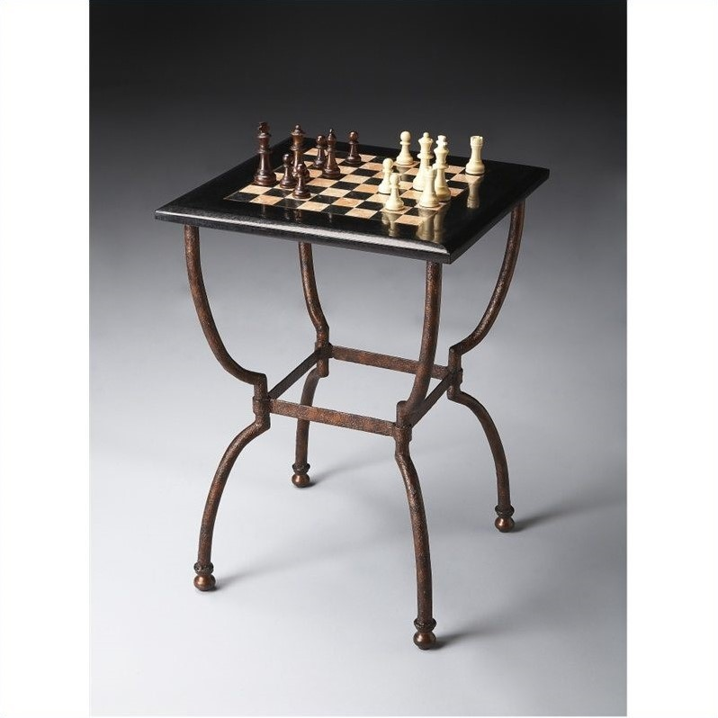 Butler Specialty Metalworks Game Table in Antique Finish