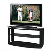 Tech-Craft Sorrento 50 Inch Metal Plasma/LCD TV Stand in Black