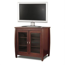 Tech-Craft Veneto Series 30 Walnut Tall Boy LCD/Plasma Wood TV Stand
