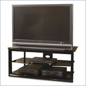 Tech-Craft Bernini 48 Black Metal LCD/Plasma TV Stand