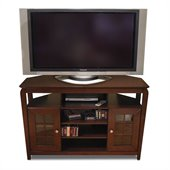 Tech-Craft Veneto Series Walnut 46 Hi-Boy Wood LCD/Plasma TV Stand