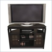 Tech-Craft Veneto Series Black 46 Hi-Boy Wood LCD/Plasma TV Stand