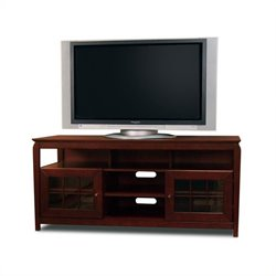 Tech-Craft Veneto 60 Hi-Boy Walnut Wood LCD/Plasma TV Stand