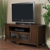 Tech-Craft 64 Walnut Curved Front Hi-Boy Audio/Video Credenza