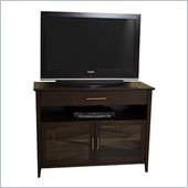 Tech-Craft 48 Wide Espresso Hi-Boy Flat Panel TV Credenza