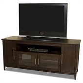 Tech-Craft 64 Wide Espresso Hi-Boy Flat Panel TV Credenza