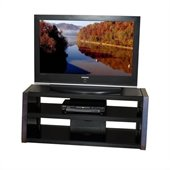Tech-Craft Monaco Series 48 Inch Wide NTR Plasma/LCD TV Stand in Walnut Finish 