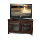 Tech-Craft Veneto Series 48 Inch Wide Hi-Boy TV Stand in Walnut Finish