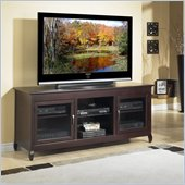 Tech-Craft Veneto Series 62 Inch Wide Hi-Boy TV Stand in Espresso Finish