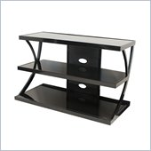 "Tech Craft 42"" Wide TV Stand in Black"