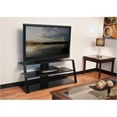 Tech Craft 48“ Wide TV Stand in Black