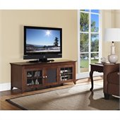 "Tech Craft 60"" Wide TV Stand in Walnut"