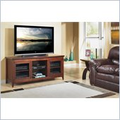 "Tech Craft 62"" Wide TV Stand in Walnut"