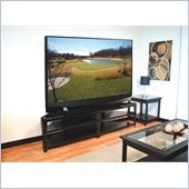 "Tech Craft 82"" Wide TV Stand in Black"