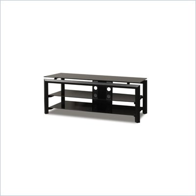 Tech Craft Bernini 52 Inch Black TV Stand