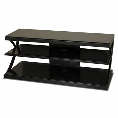 Tech-Craft 48&quot; Black Flat Panel Television Stand
