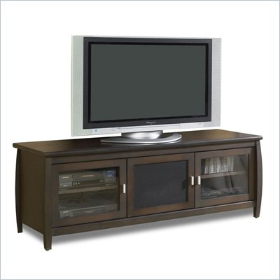 Tech-Craft Veneto 60&quot; LCD/Plasma TV Stand in Walnut Finish