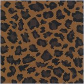 Blazing Needles Tapestry Full Size Futon Cover in Cheetah