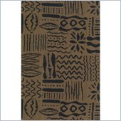 Blazing Needles S/3 Tapestry Futon Cover Package in Hieroglyphics