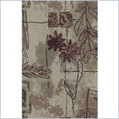 Blazing Needles S/3 Tapestry Futon Cover Package in Japanese Garden