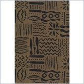 Blazing Needles S/5 Tapestry Futon Cover Package in Hieroglyphics