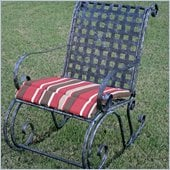 Blazing Needles Outdoor Patio Rocker Cushion