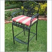 Blazing Needles Set of 2 Patio Bistro Chair Cushions
