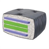 Blazing Needles 8 Full Size Futon Mattress (Tapestry)