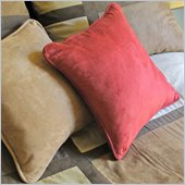 Blazing Needles Premium 20 Indoor Micro Suede Pillow Package