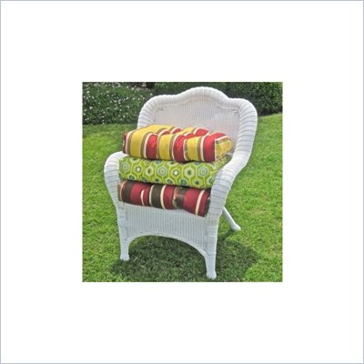 Blazing Needles Outdoor Standard Wicker Rocker Cushion