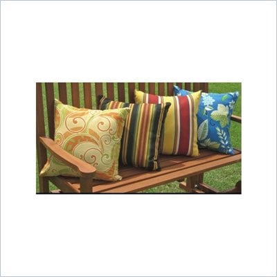 Blazing Needles Set of 2 18&quot; Outdoor Pillows