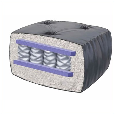 Blazing Needles 10&quot; Full Size Coil Pack Futon Mattress (Solid)