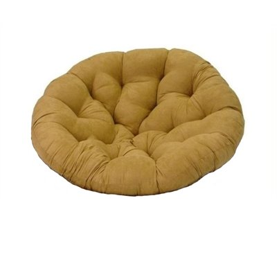 Blazing Needles Oversize 52&quot; Papasan Micro Suede Cushion