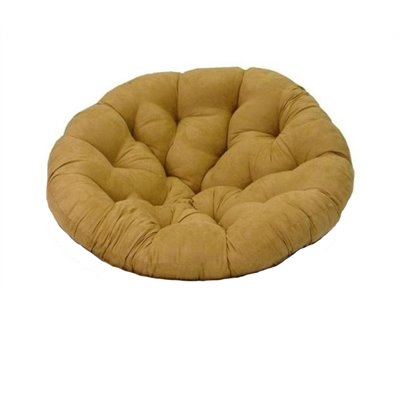 Blazing Needles Standard Single Papasan Micro Suede Cushion
