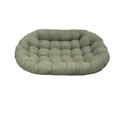 Blazing Needles Oversize Double Papasan Micro Suede Cushion