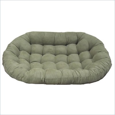 Blazing Needles Standard Double Papasan Micro Suede Cushion