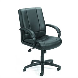Boss Office Products Mid-Back Caressoft Executive Office Chair