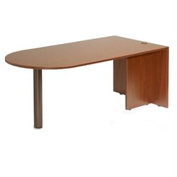 Boss Office Products Wood Bullet Desk